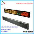 P7.62 SMD Red and Green dual color(mixture color yellow) led  advertising  meassage sign JDG764RG