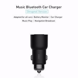 Image 4 - Roimi зарядное устройство 3S Bluetooth музыкальный плеер FM передатчик быстрое зарядное устройство s 5 в 3,4 а два USB для автомобиля наборы умного дома