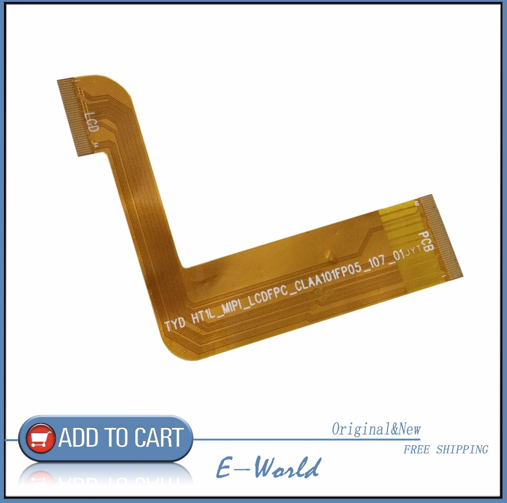 Original LCD Screen Cable TYD HT1L_MIPI_LCDFPC_CLAA101FP05_107_01 for CLAA101FP05 tablet pc free shipping free shipping original 9 inch lcd screen cable numbers kr090lb3s 1030300647 40pin