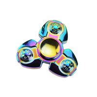 Rainbow Brass Hand Spinner Fidget Spinner Stress Cube Hand Spinners Focus And ADHD EDC Anti