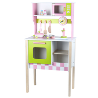 Wood Kitchen Toy Kids Cooking Pretend Play Set Toddler Wooden Playset toy gift