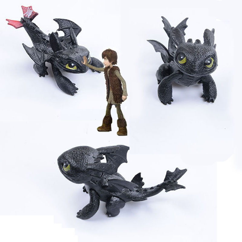 7cm How To Train Your Dragon Toothless Action Figure Toyless Toothless Toys For Children's Birthday Gifts I0035