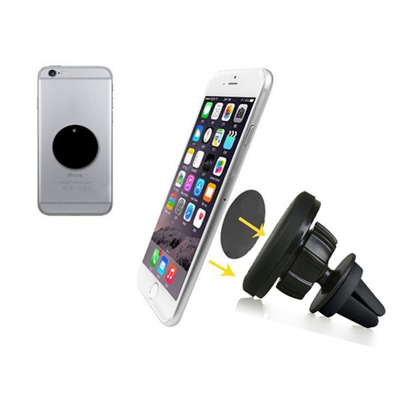 360 degrees Universal magnet mobile phone holder for iphone 6s car air vent magnetic holder stand for S5 suporte celular carro