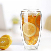 Danish BODUMM Set Of 2pcs 80ml 250ml 350ml 450ml 600ml Wholesale Double Wall Glass Coffee Cup