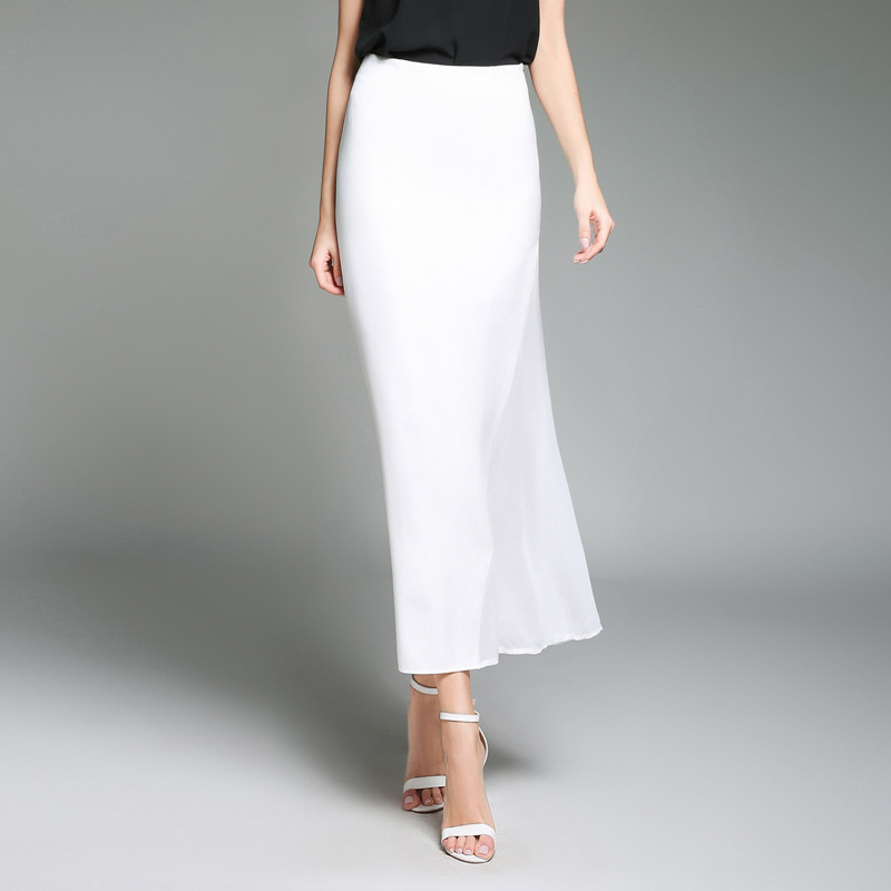 Shop by skirt length, color or check out the latest looks from your favorite brands. For a versatile style, check out knee length skirts. Look for the classic cut of a pencil silhouette, which features a slim shape in the hips and thighs, and hits perfectly at the knees.