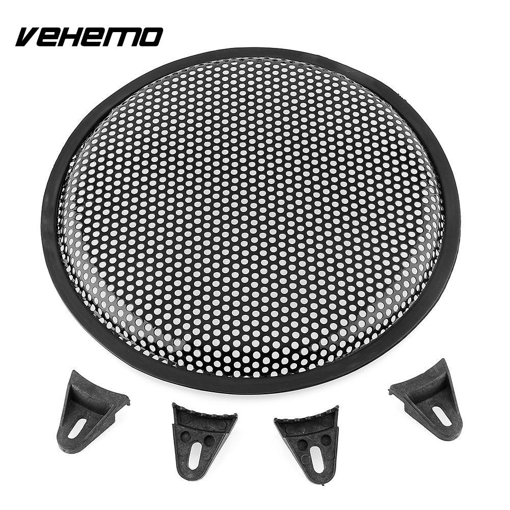 "Vehemo 10"" Inch Metal Audio Sound Klaxon Sub Woofer SubWoofer Cover Guard Protector"
