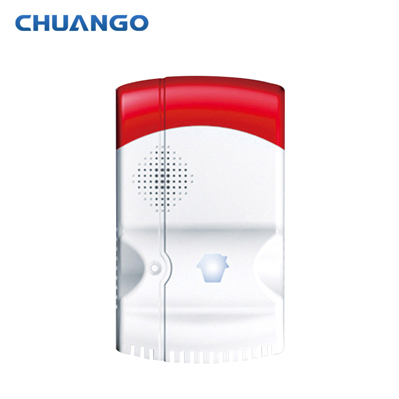 Chuango GAS-88 Wireless Gas Leakage Detector For SMS Wireless Security Burglar  Alarm System Control CHUANGO G5 315mhz golden security lpg detector wireless digital led display combustible gas detector for home alarm system