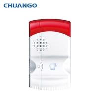 Chuango GAS-88 Wireless Detector de Fugas de Gas Para SMS de Seguridad Inalámbrica de Alarma Antirrobo Sistema de Control de CHUANGO G5 315 mhz