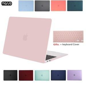 Image 1 - MOSISO קריסטל מט חלבית מקרה כיסוי שרוול עבור Macbook Air 11 אוויר 13 אינץ A1466 A1932 Mac Pro 13 15 רשתית A1706 A1708 A1989