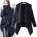 Inverno quente casaco de lã da forma das mulheres jaqueta Corta-vento Frete Grátis WL2043