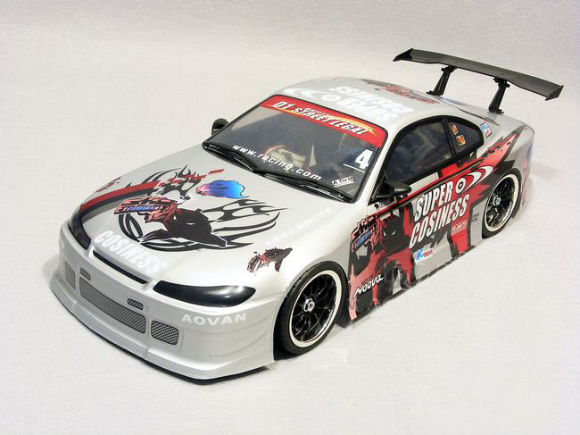 YUKALA S007 1/10 1:10 PVC painted body shell for 1/10 RC hobby racing car  2pcs/lot free shipping