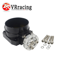 Vr preto 85mm q45 regulador de admissão do corpo do acelerador para nissan rb25det rb26det rb20dt gts vr6944bk|vr racing|throttle body intake|throttle body -