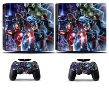 Avengers 260 PS4 Slim Skin Sticker Vinyl Cover