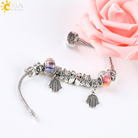 CSJA-I-LOVE-YOU-Fit-Pandoras-Bracelets-A