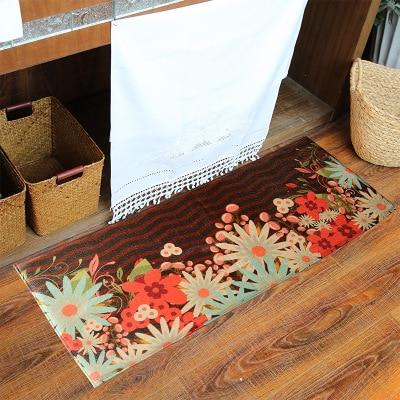 Carpets & Rugs Qualified Flower Doormat Kitchen Entrance Bath Shower Tapetes Long Bohemian Floor Mats Sofa Carpets For Living Room Foot Pad Bathroom Mat