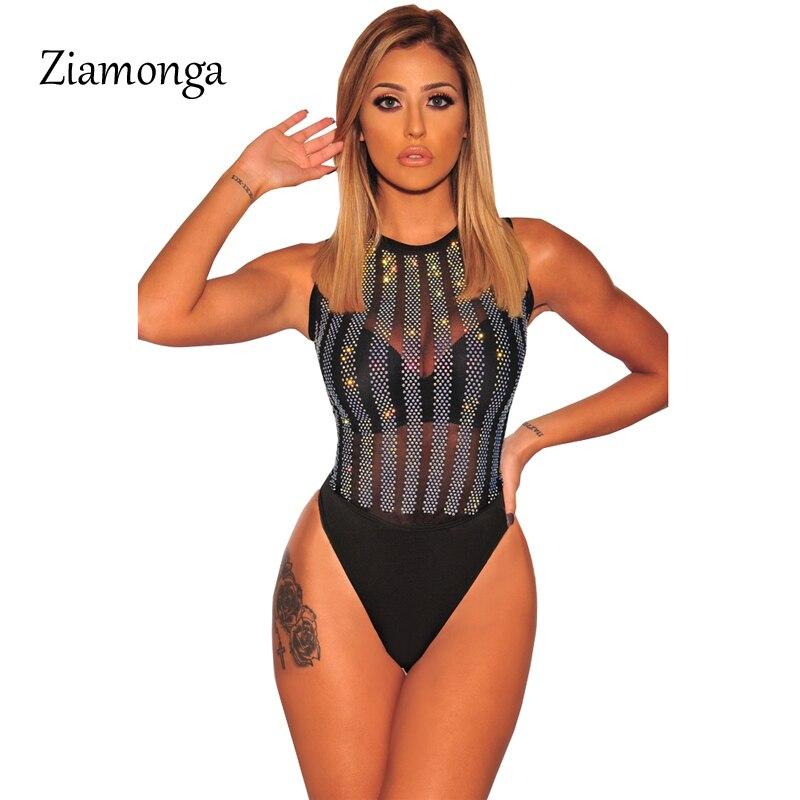 High Quality Bodysuit Sheer NYLON Super shiny bodyhose bodystocking Close Crotch