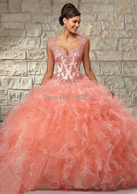 Compare Prices on Coral Quinceanera Dress- Online Shopping/Buy Low ...