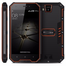 Blackview BV4000 Pro IP68 Waterproof Smartphone 4.7″ HD MTK6580A Quad Core Android 7.0 2GB+16GB 8.0MP Camera 3G Mobile Phone