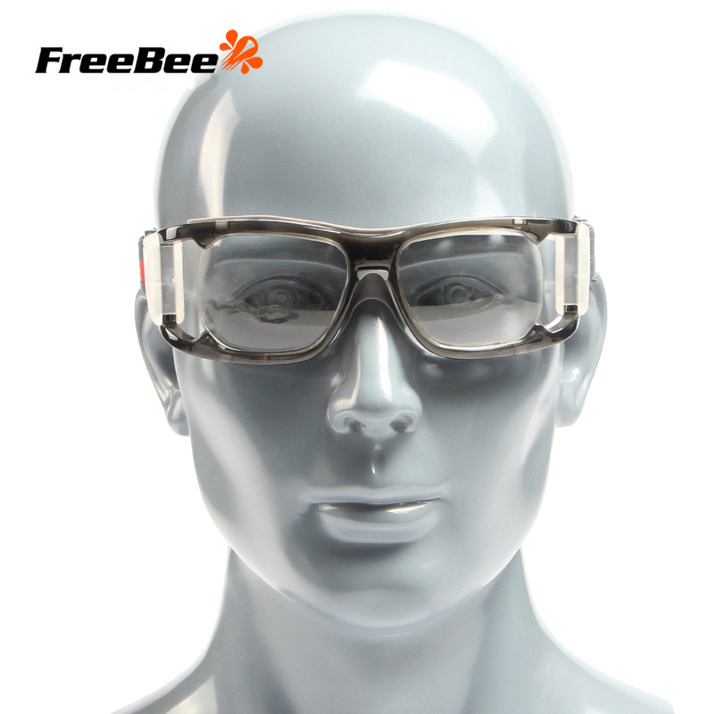 FreeBee Safety Goggles Sport Style Protective Glasses Anti-Impact Anti-shock Basketball Football Eyewear Adult PC Lens Goggles