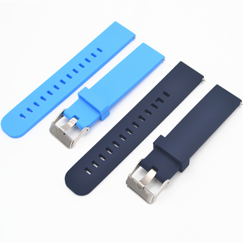 Silicone watch strap (18 mm to 22 mm)
