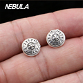 Real 925 Sterling Silver Vintage Cross Stud Earrings For Women Earrings Jewelry Thai Silver Earrings