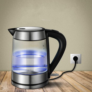 Electric kettle household baby glass open