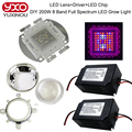 2017 DIY 200W Led Grow Light 8 Band Full Spectrum LED Grow,LED Driver,Lens And Reflector DIY Full Spectrum COB Led Grow Lamp