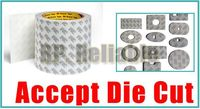 (35cm) 350mm width, 50 Meters Length, 3M Double Sided Adhesive Tape 9080#, for Electronic Component Touch Panel Bonding