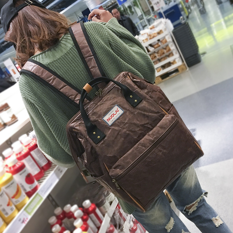 2017 Fashion School Travel Backpack Girl Lady Bag Leisure Korean Very Big Capacity Casual New Material Double Design Waterproof 2017 new korean man pu leather backpack male new style junior middle school students leisure travel backpack fashion bag