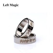 1 шт., сильное магнитное волшебное кольцо, магнитное кольцо, монета, волшебные трюки, украшение для пальцев, волшебное кольцо, магическое кольцо, магии, магии, крупным планом, B1036