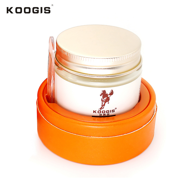 KOOGIS Moisturizing Horse Oil Face Cream 70g Nourishing Whitening Anti-aging Repair Facial Cream 15
