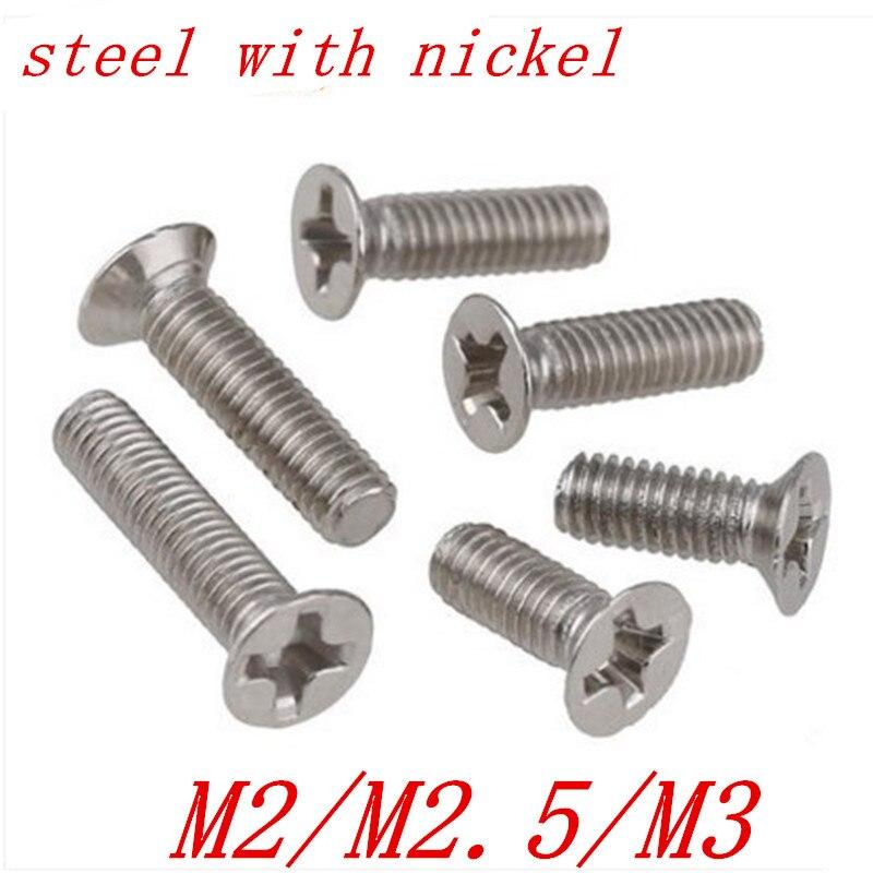 M8 M10 A4 Acero Inoxidable Tornillos de máquina Plana Cabeza Avellanada PERNOS DE CABEZA RANURADA