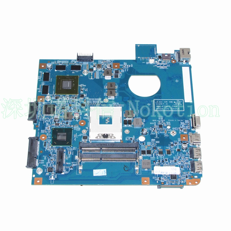 NOKOTION JE40 HR MB 10267-4 48.4IQ01.041 For acer aspire 4750 4752G motherboard HM65 Nvidia 540 mbrr706001 mb rr706 001 laptop motherboard fit for acer aspire 5749 series da0zrlmb6d0 c0 hm65