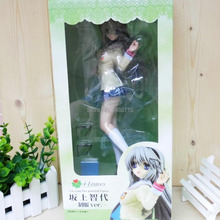 """Hot Sakagami Tomoyo Game CLANNAD 4 Leaves 1/6 Scale 10"""" Action Figure Toys New Box"""