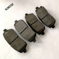 (4pcs/set) Front / Rear Brake pads set KIT FR RR DISC BRAKE for Chinese CHANGAN CS15 SUV Auto car motor part
