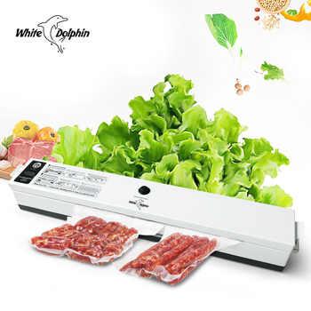 Food Vacuum Sealer Packaging Machine 110V 220V Film Sealer Vacuum Packer Saver Storage Rolls 15Pcs Bags Best Vacuum Food Sealer - DISCOUNT ITEM  64 OFF Home Appliances