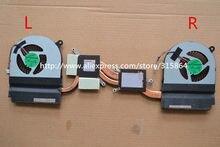 Ventilador de refrigeración con disipador de calor para ordenador portátil Acer V Nitro VN7-591 VN7-591G L & R, novedad