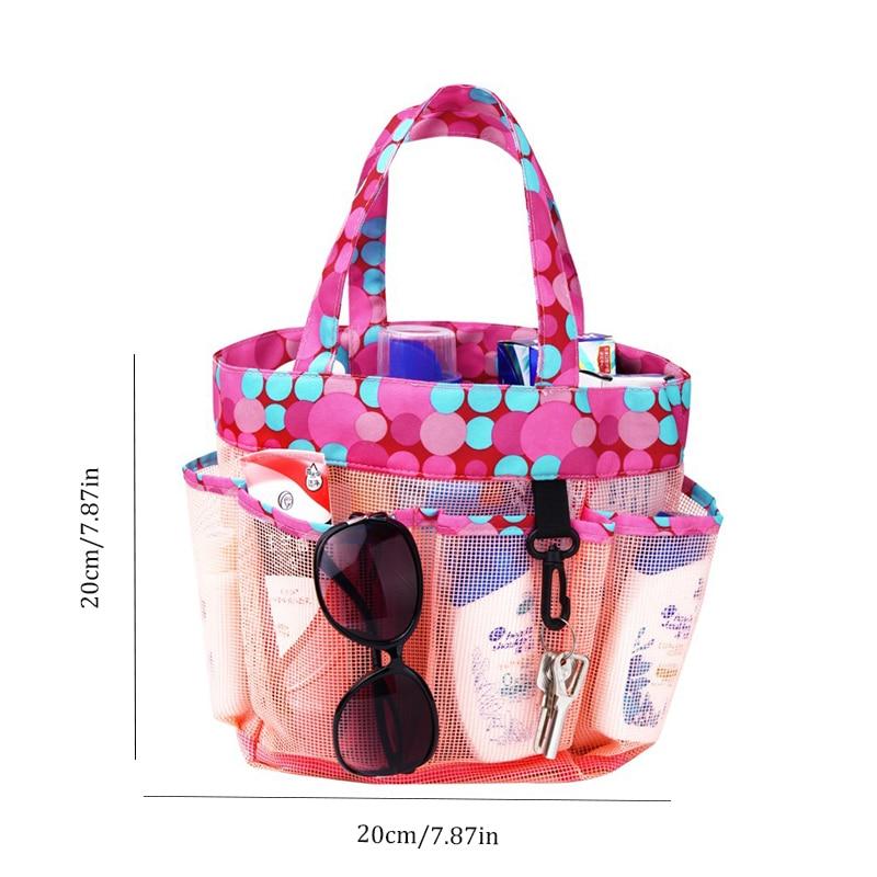 e0e44ed0f DINIWELL beach bags women Portable beach bag PVC mesh storage basket large  capacity shower basket shower bag bathroom tote bag-in Top-Handle Bags from  ...