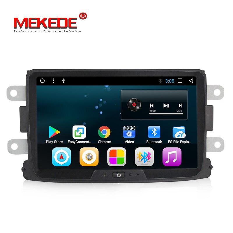 Livraison gratuite 8 ''plein écran tactile Stéréo de voiture gps navigator pour Renault Duster Dacia Sandero Logan Dokker soutien DAB micro Cadeau