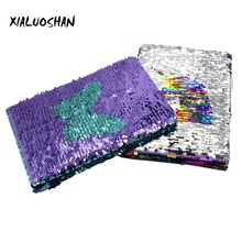 Double-sided Sequins Notebook Unicorn & Butterfly Cover Hardcover Notebook Daily Note Creative Stationery Student Supplies