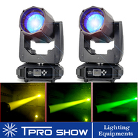 2019 Beam 80W LED Moving Head Zoom Prism Gobo DJ Lighting Effect Sharpy To 2R Similar Beam 7R Lamp, 2pcs/Lot for Wedding Event
