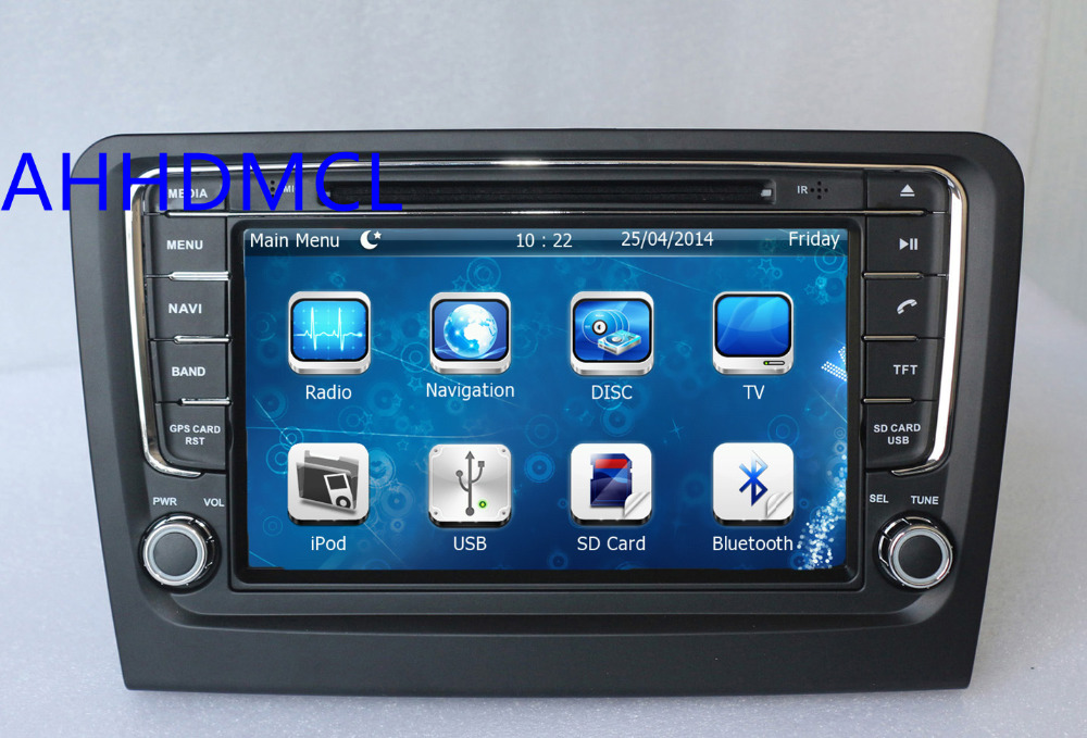 ahhdmcl car multimedia player dvd radio stereo audio gps. Black Bedroom Furniture Sets. Home Design Ideas