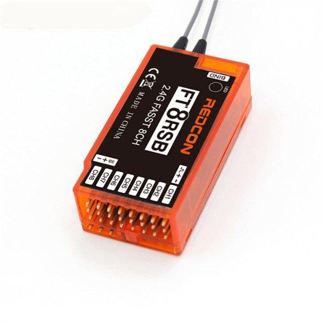 REDCON 2.4 ГГц FT8RSB 8-КАНАЛЬНЫЙ Приемник Для Futaba Совместимы TM7 ТМ8 ТМ10 TM14 T6EX-2.4G 7C-2.4G T8FG T10CG T12FG