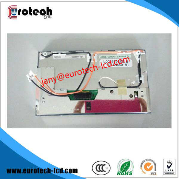 Free DHL shipping 5pcs per lot New Original  LQ065T9BR51U LCD for BMW X3 X5 E38 E39 E46 LCD  GPS Navi new original a62p with free dhl