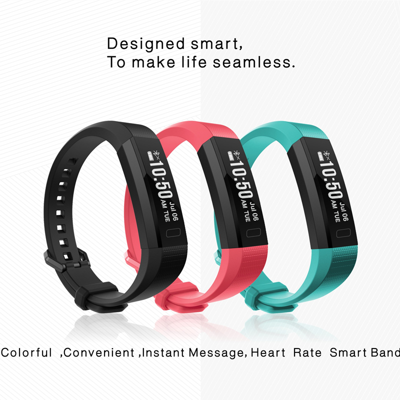Smart Band D11 Heart Rate Monitor Wristband Fitness Flex Bracelet for Android iOS PK xiaomi mi Band 2 fitbits Smartband ID107