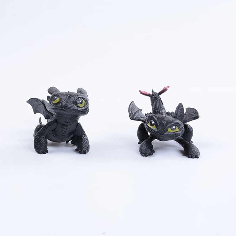 2019 Hot style Como Treinar O Seu Dragão Brinquedos Brinquedos Dragão Desdentado Fúria Da Noite Boneca De Pelúcia Dragão Figura de Ação para Crianças brinquedos Dos Miúdos