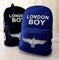 Горячая продажа 2017 новый Harajuku ulzzang лондон мальчик орел рюкзак опрятный стиль школьный женщины дорожная сумка