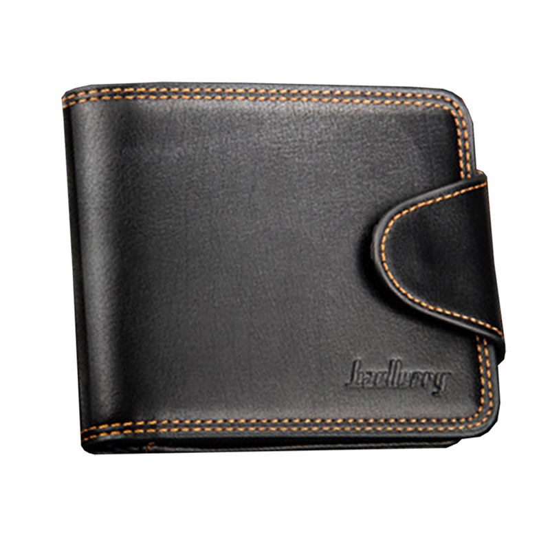 Buckle Wallet Business Zipper America Van Men Cross-Section And Casual Europe