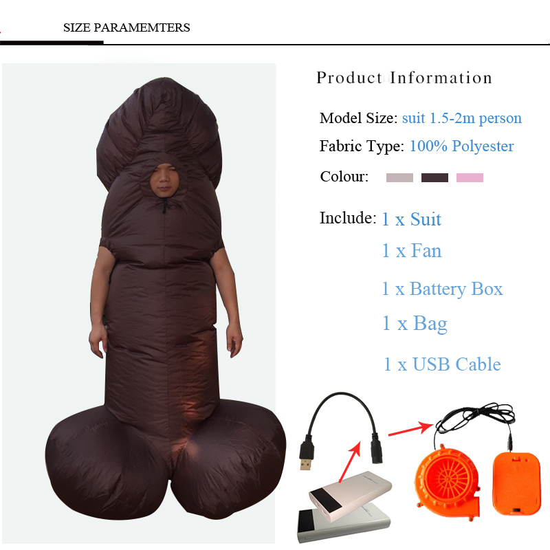 inflaable willy costume (6)