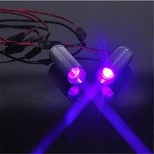 250mw 405nm фиолетовый лазерный модуль 3,6 v 5v DC для комнаты/реквизит для лабиринта/бар Танцы лампа